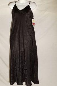 NWT black slip dress